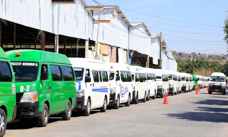 Transportistas de Izúcar ya modernizados
