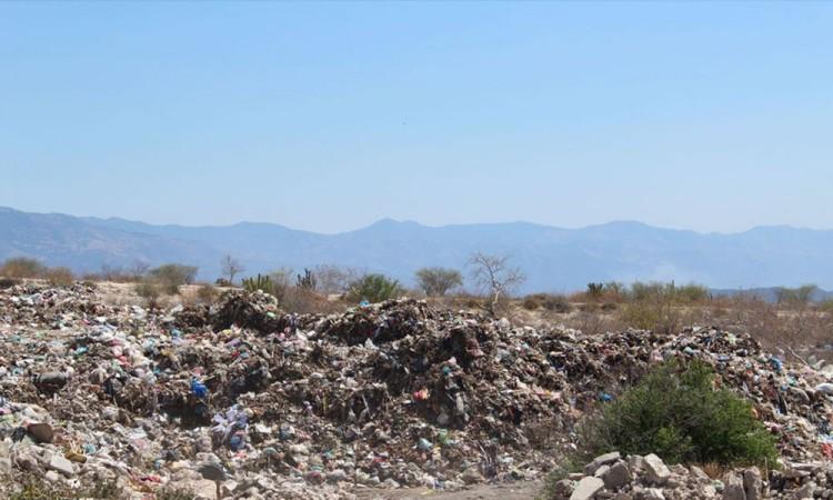 Detectan tiradero clandestino de basura