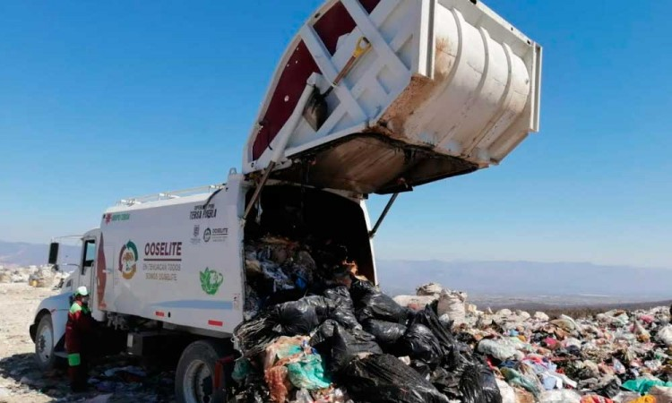 Recolección de basura en Tehuacán opera en números rojos