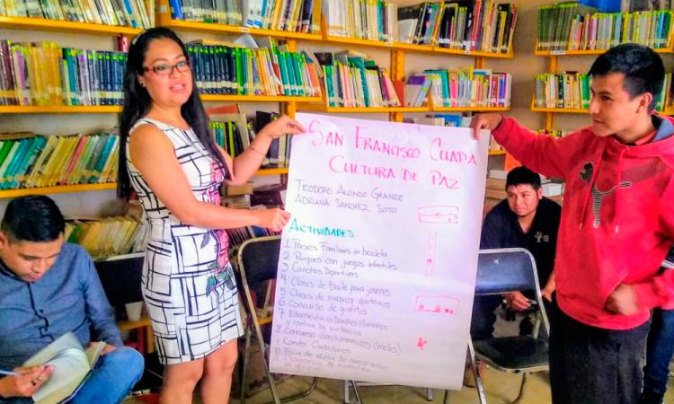 San Pedro Cholula pionero en Prevención de Violencia con Diálogos