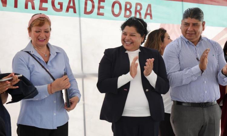 Entregan aulas didácticas en San Andrés Cholula