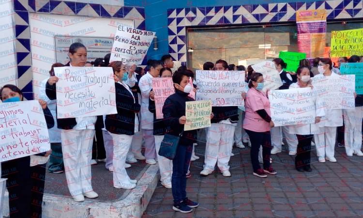 Personal médico de Teziutlán pide material básico para enfrentar el coronavirus