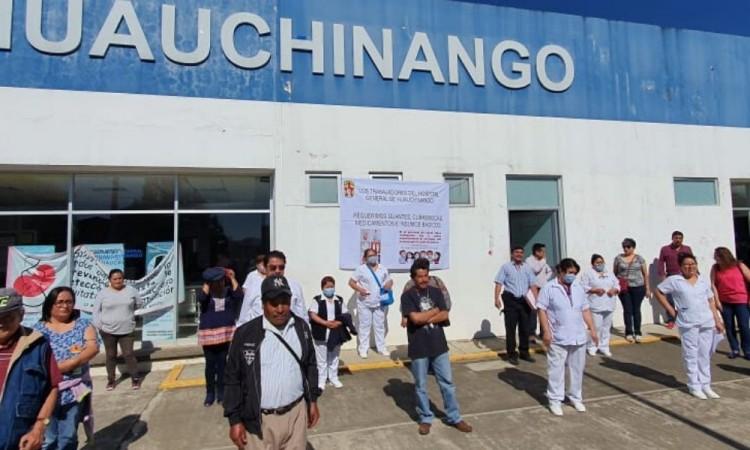 Protesta personal médico en  la entidad por falta de insumos