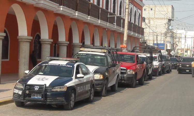 Policía Estatal toma control de la seguridad en Ajalpan