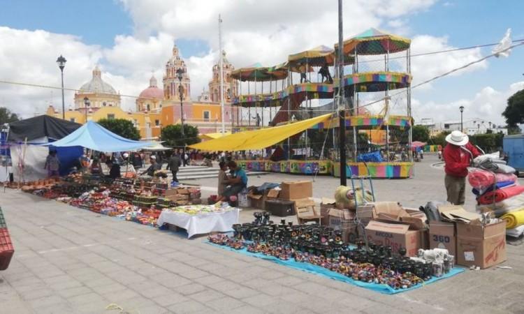 Por Covid-19 cancelan tianguis y ambulantaje en Acatzingo