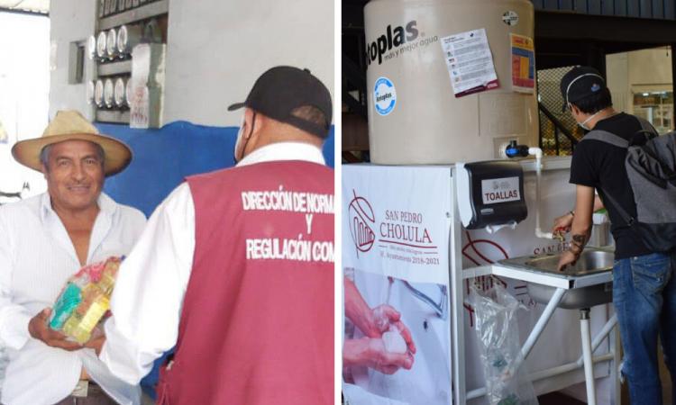 San Pedro Cholula redobla esfuerzos ante fase 3 de COVID-19