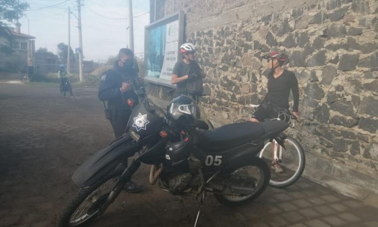 Deportistas de Cholula siguen saliendo pese a contingencia
