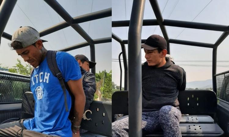 Detienen a ladrones dentro de una escuela de Izúcar de Matamoros