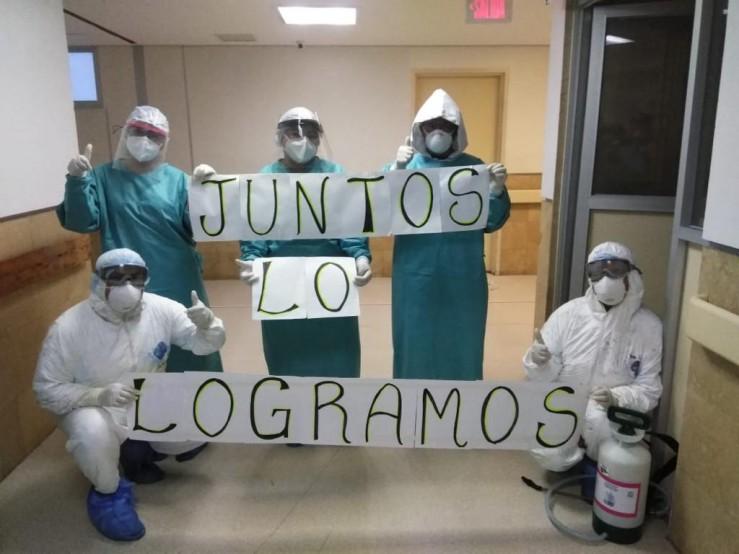 En Tehuacán dan de alta a su primer paciente recuperado de Covid-19