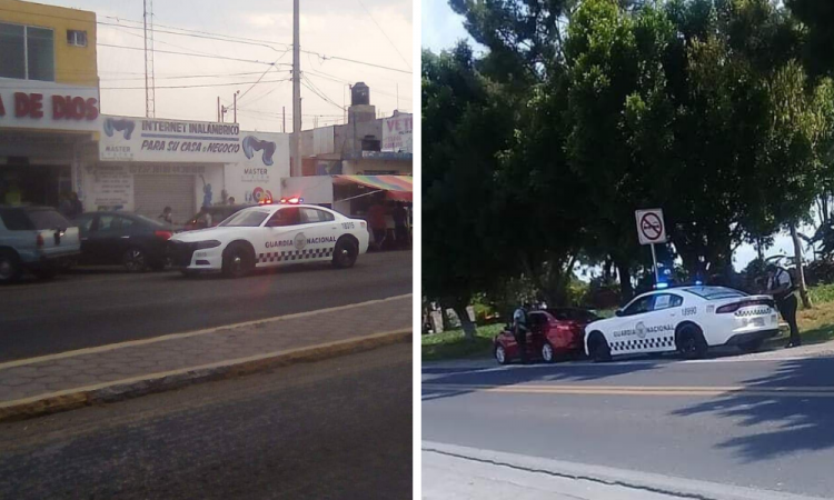 Comando armado provoca pánico en Tlacotepec de Benito Juárez