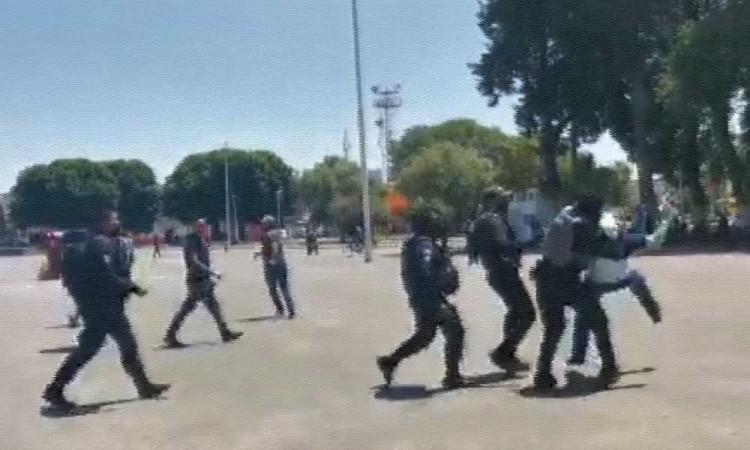 En Huejotzingo, encarcelan a tres antorchistas