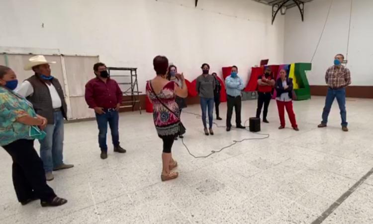 Comerciantes entablan diálogo con autoridades en Zacatlán