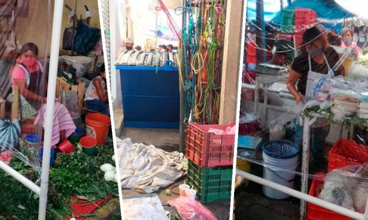 Dan ultimátum a tianguis de Atlixco; cerrará si no siguen medidas de salud
