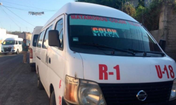Concesionarios de rutas en Izúcar podrían perder unidades por Covid-19