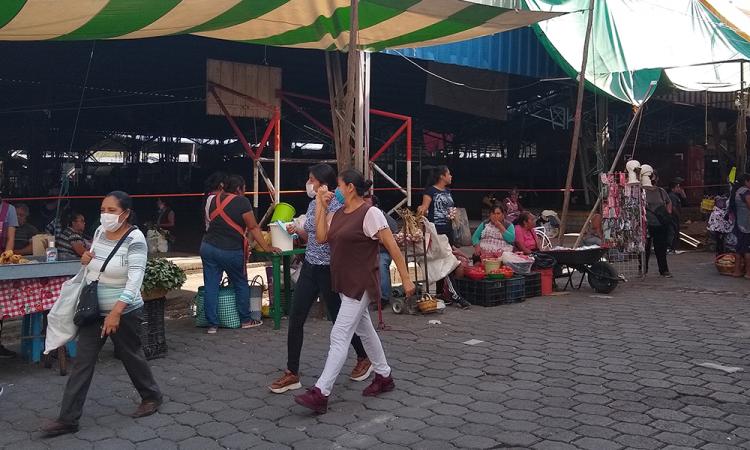 Sin reactivarse tianguis La Purísima en Tehuacán
