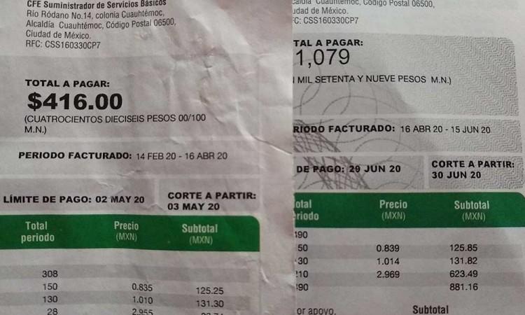 En Tehuacán, pagan la luz hasta $1,500 en pandemia