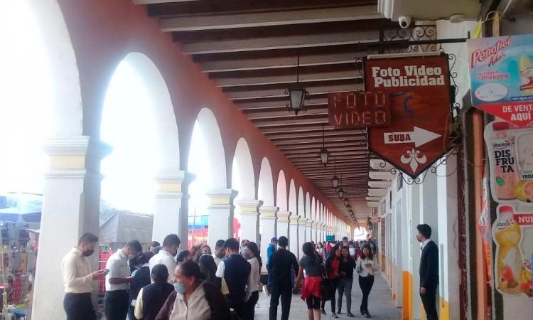 Regresa el tianguis de los martes en Acatzingo
