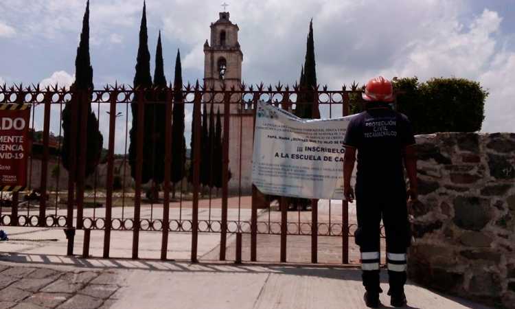 Tras sismo, Tecamachalco reporta saldo blanco