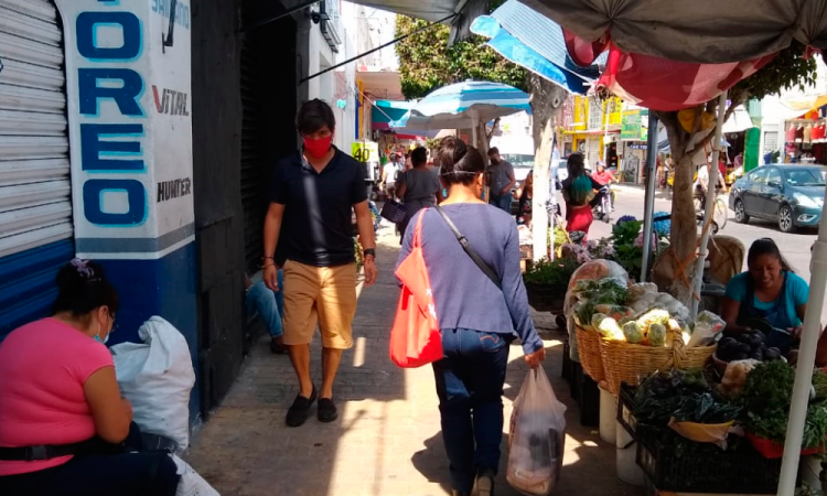Crece un tercio ambulantaje en Tehuacán durante contingencia