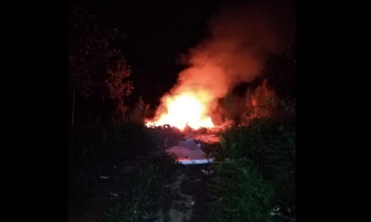 Explota bodega en Xiutetelco; sospechan que fue provocado
