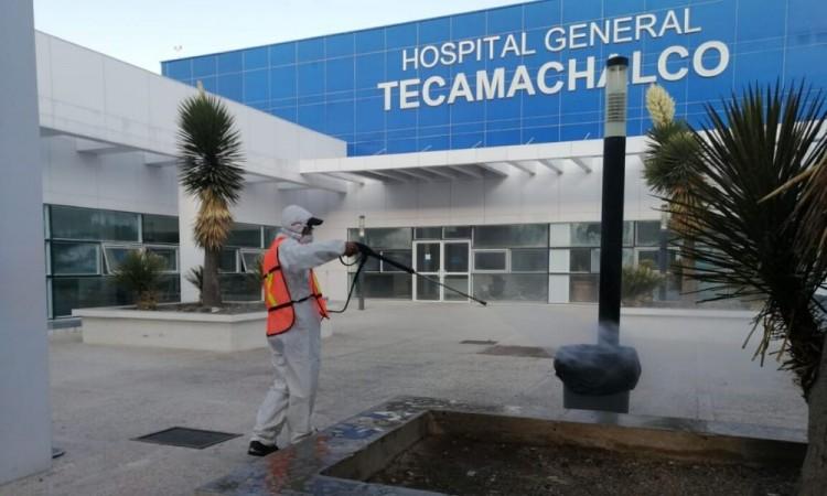 Hospital General de Tecamachalco alcanza 25 por ciento de su capacidad por coronavirus