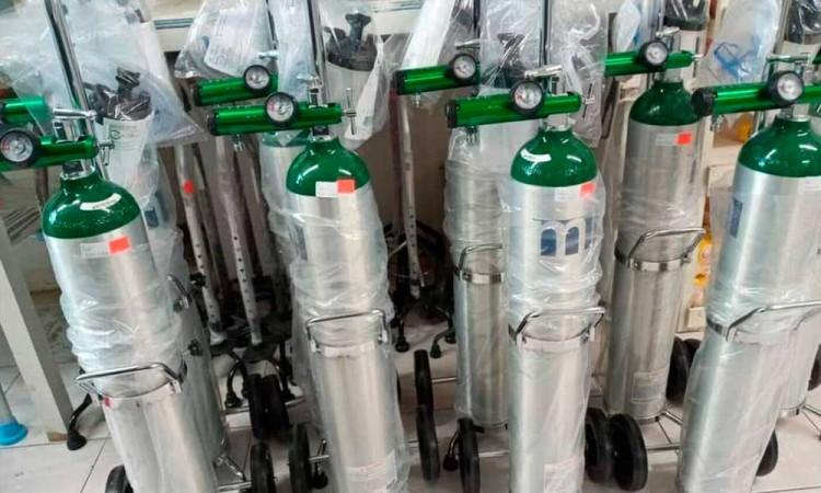 Tehuacán registra desabasto de tanques de oxígeno por Covid-19
