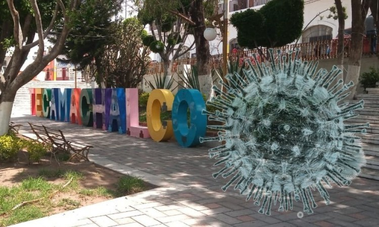 La propagación del virus en el municipio de Tecamachalco ha provocado incertidumbre entre los ciudadanos.