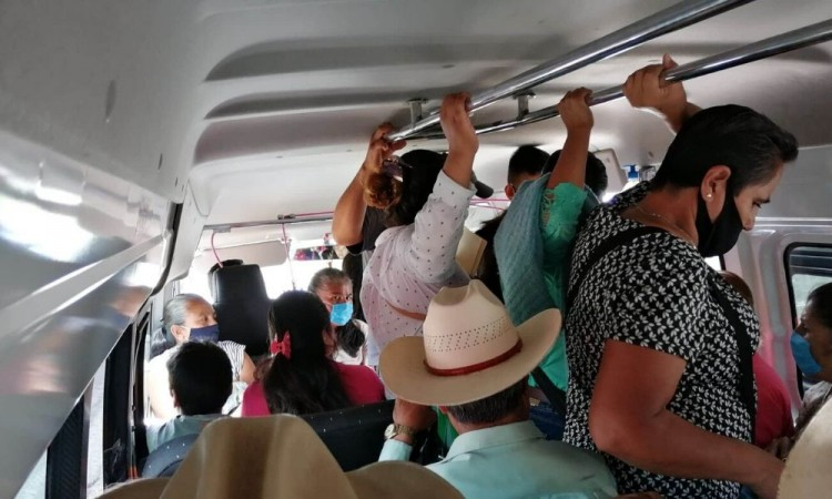 Debido al momento que se vive en el municipio, exigieron la inmediata atención de la Secretaría de Movilidad y Transport