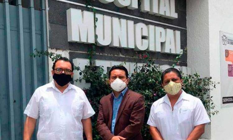Vecinos de Tehuacán se oponen a la instalación de centro Covid en su colonia