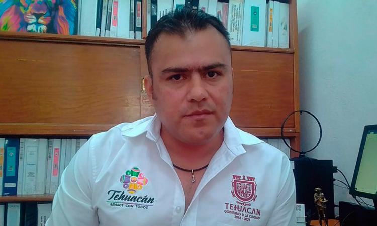 Ahora ex director de Ecología y Medio Ambiente en Tehuacán