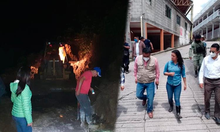 9 comunidades de San Felipe Tepatlán continúan incomunicadas