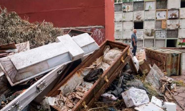 Se saturan panteones en Cuautlancingo