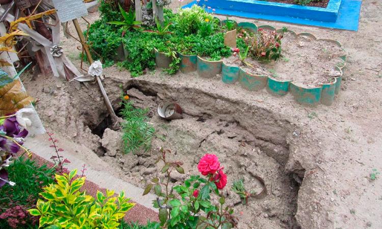 Se quedan sin espacios para inhumaciones en San Nicolás Tetitzintla