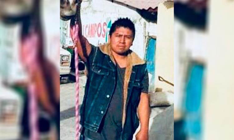 Sergio Rivera Hernández, activista desaparecido