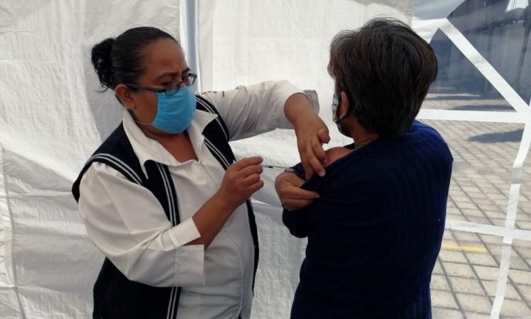 Este año se había decidido no colocar ningún módulo de vacunación en vía pública.