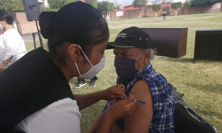 Por la contingencia sanitaria de Covid-19 no se están instalando módulos de vacunación.