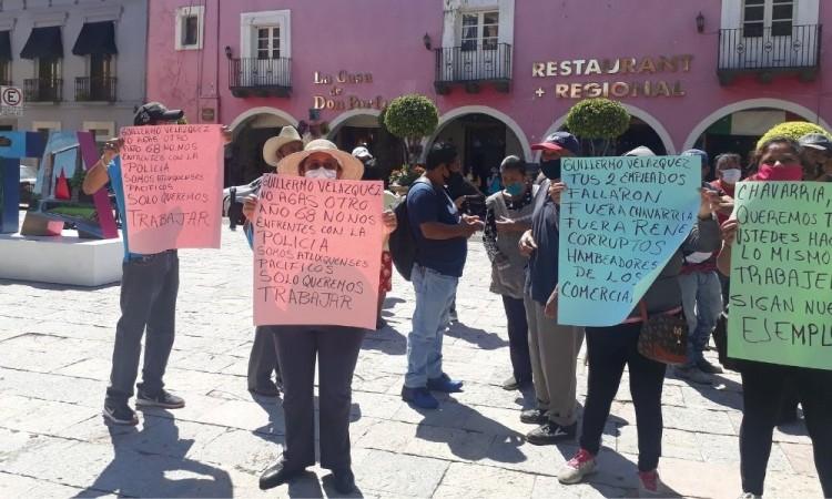 Los afectados señalan que incluso el gobierno local solapó la situación.