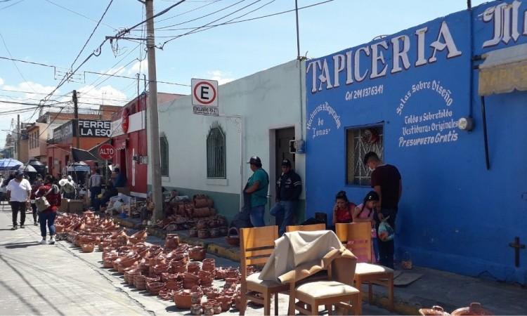 Los vendedores foráneos que vienen de Michoacán no podrán instalarse.