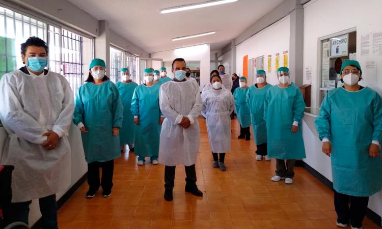 Benefician jornada de salud a paciente en Teziutlán