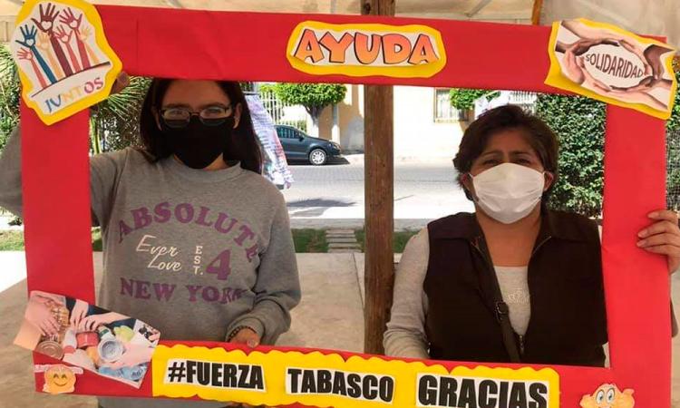 Abren centros de acopio en Tehuacán para apoyar a damnificados de Tabasco y Chiapas