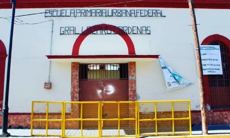Incrementan robos a escuelas durante pandemia en San Pedro Cholula