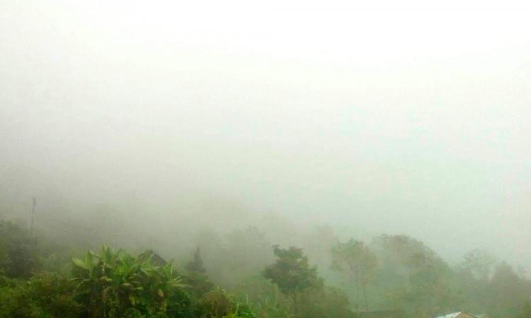Alerta en la Sierra Negra por descenso de temperaturas y lluvias