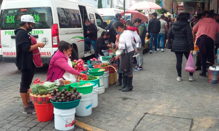 Ambulantes de Tehuacán podrán instalarse en temporada decembrina