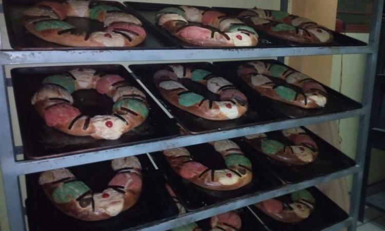 Auguraron que la venta de roscas de Reyes será fructífera.