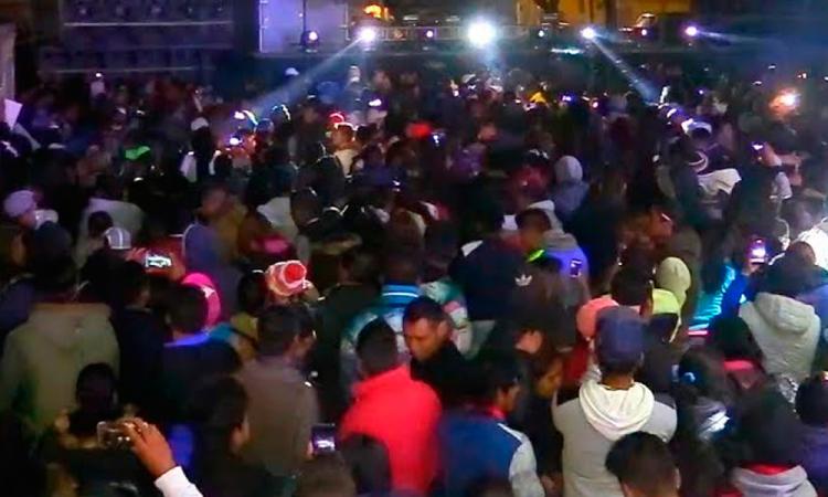 Arman mega fiesta en Yehualtepec en pleno rebrote de contagios