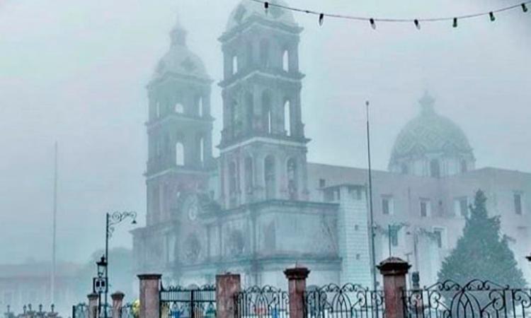 Advierten sobre bajas temperaturas en Sierra Poblana