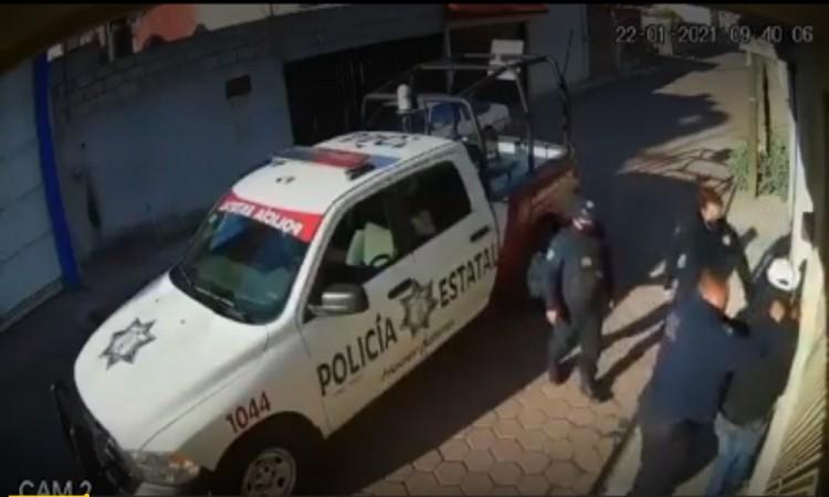 Inician investigación en contra de policías por abuso de autoridad en Amozoc