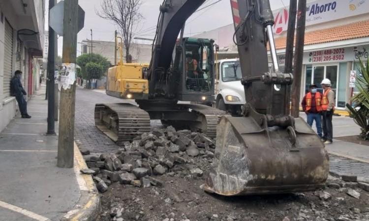 Más de 28 obras públicas se frenan por contingencia sanitaria en Tehuacán