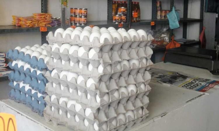 Incrementa el precio de huevo en Tehuacán, llega a más de 40 pesos el kilo