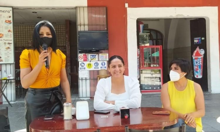 Destapan a Ana Cristina Ruiz Rangel; irá por alcaldía de San Pedro Cholula